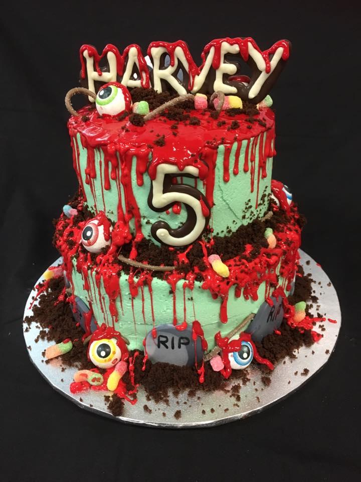 Boy's Custom Birthday Cake