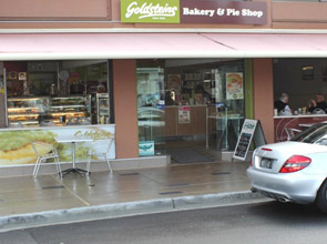 Chevron Island Goldsteins Bakery