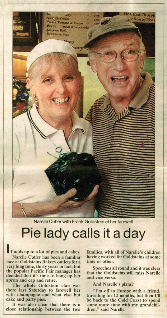 Pie lady calls it a day