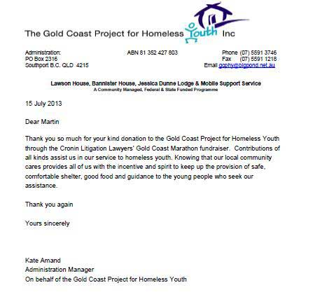 Gold Coast Project for Homeless Youth
