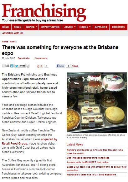 Brisbane Franchise Expo July 2013